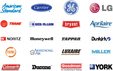 heating and air conditioning logos