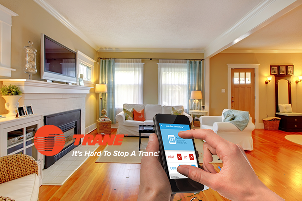 Trane® Smart HVAC Thermostats Offer Remote Comfort and Energy Usage Control